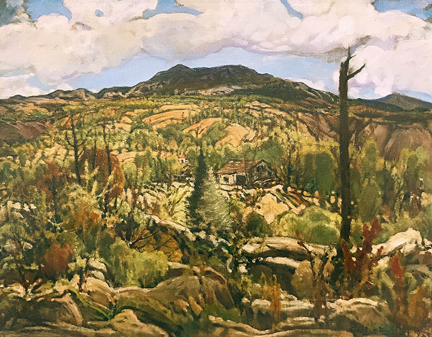 Charles Reiffel - Homestead Ranch, Southern California, 1933