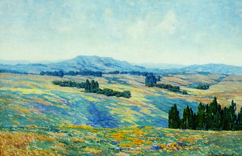 Granville Redmond - California Poppies