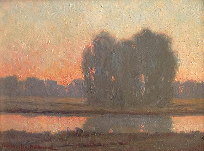 Granville Redmond - Evening Sunset