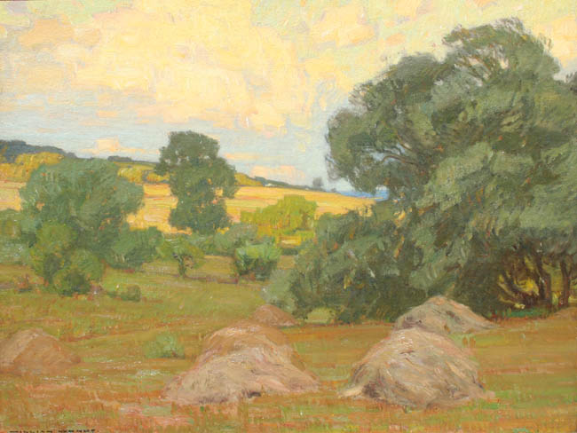 William Wendt - Coastal Haystacks