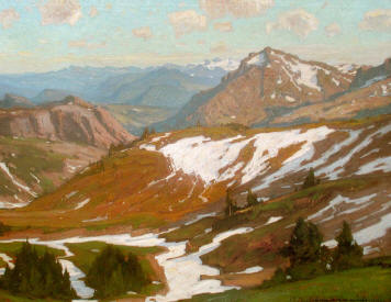 William Wendt - Mountain Infinity